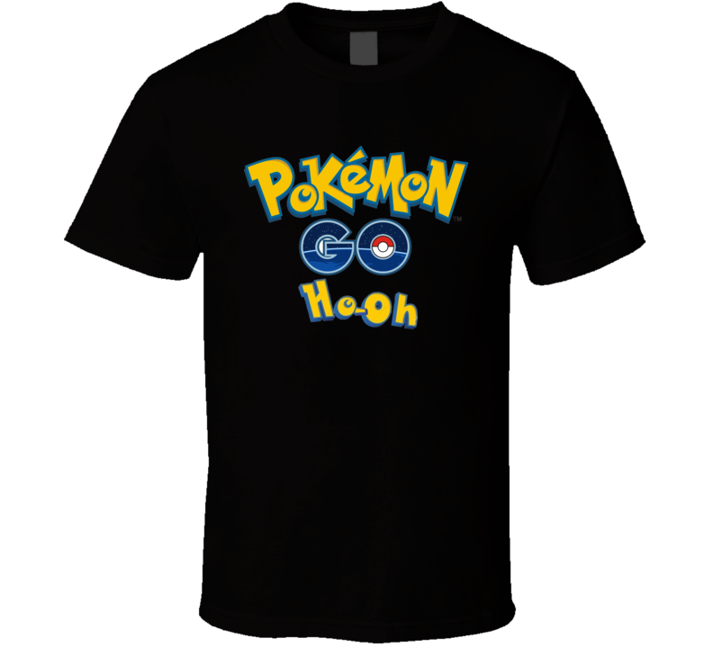 Pokemon Go Ho-Oh Worldwide Christmas Event Gamer Fan Gift T Shirt
