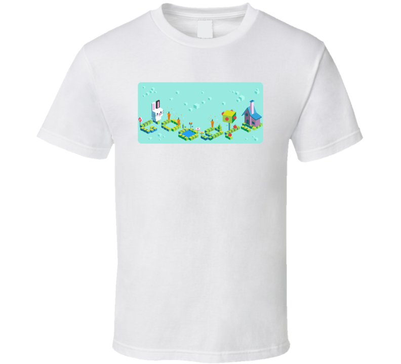 Google Doodle Game Celebrating 50 Years of Kid Coding Cool T Shirt