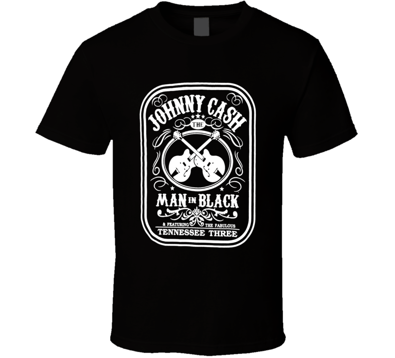 Johnny Cash Man In Black Cool Music Lover Gift T Shirt