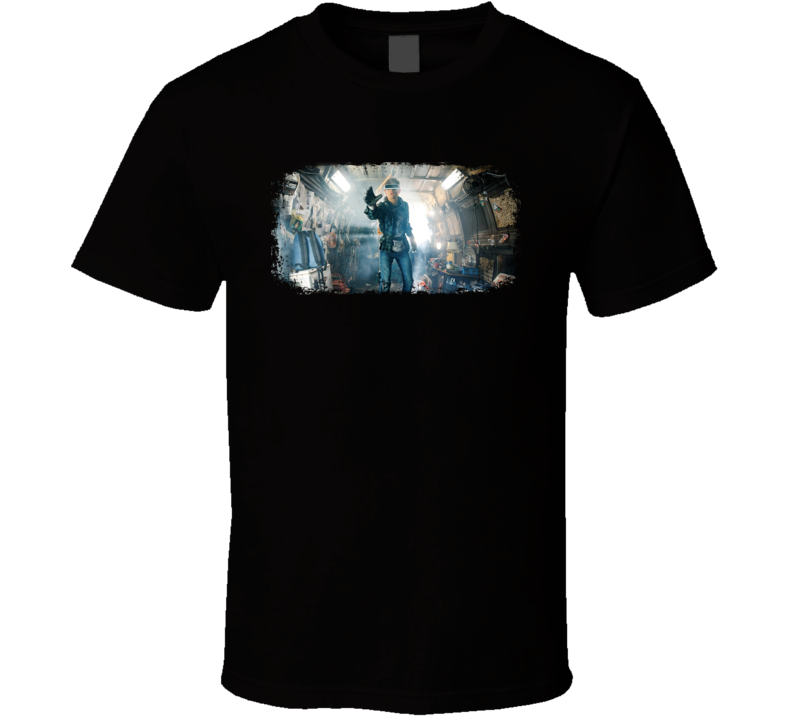 Ready Player One Gaming Movie Poster Gift T Shirt