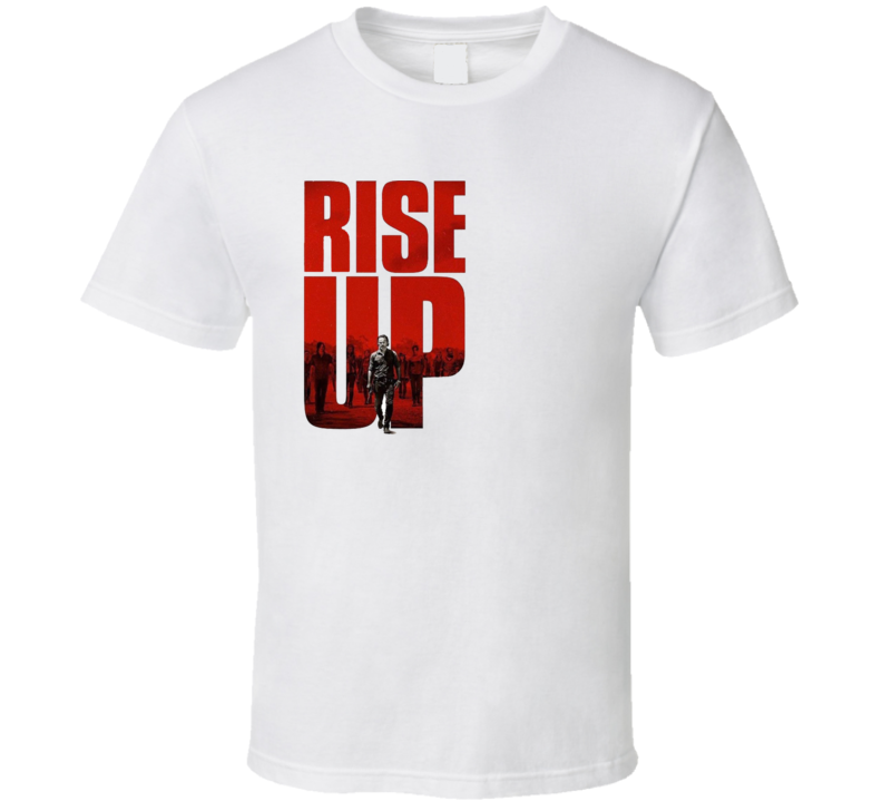 The Walking Dead All Out War Rise Up TV Show Gift T Shirt