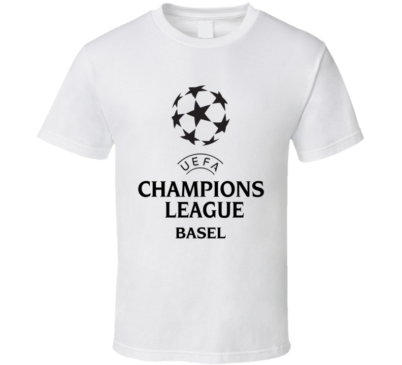 Basel Uefa Champions League Soccer Gift Fan T Shirt