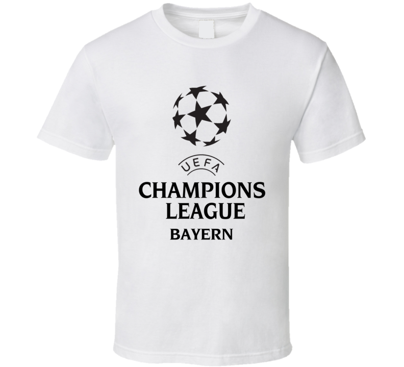 Bayern Uefa Champions League Soccer Gift Fan T Shirt