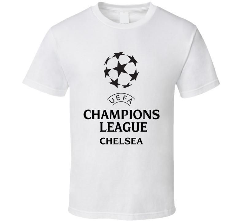 Chelsea Uefa Champions League Soccer Gift Fan T Shirt