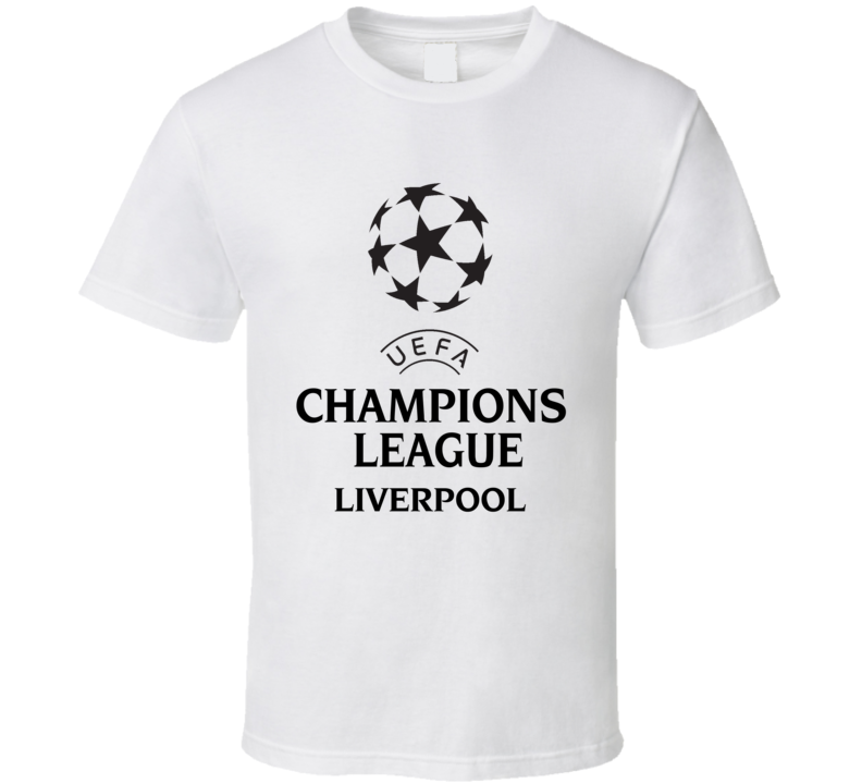 Liverpool Uefa Champions League Soccer Gift Fan T Shirt