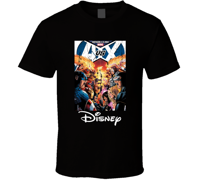 Avengers VS XMen Marvel Super Fan Cool Gift T Shirt