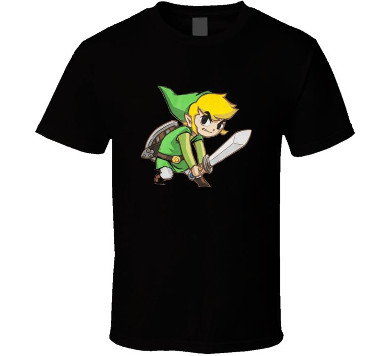 Nintendo Big Link Cool Fan Gift  T Shirt