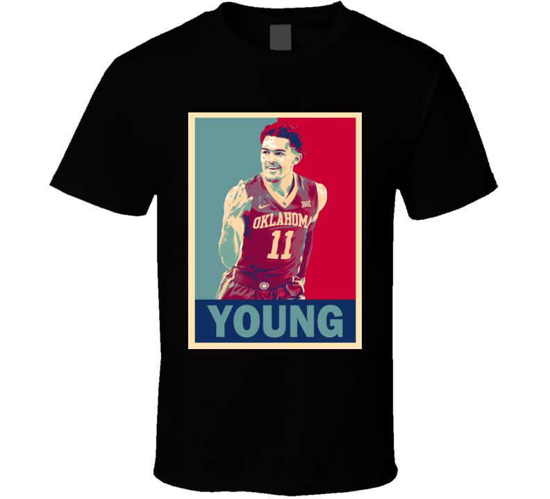 Trae Young Oklahoma College Basketball Gift T Shirt