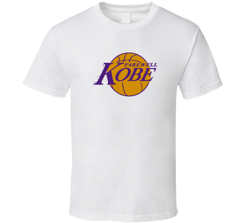 Farewell Kobe Bryant Basketball Retirement Gift T Shirt
