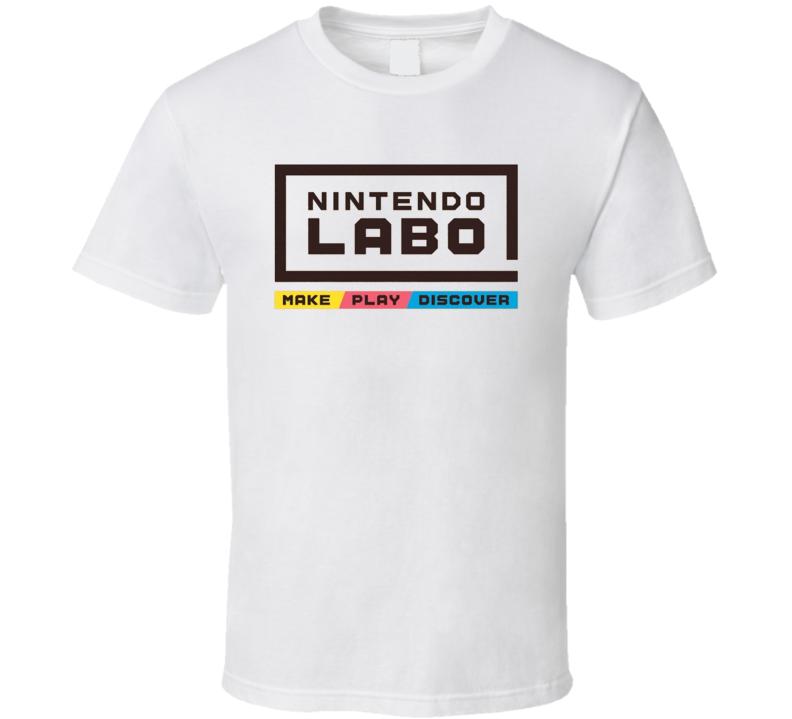 Nintendo Labo Cardboard Accessories Gamer Fan Gift T Shirt