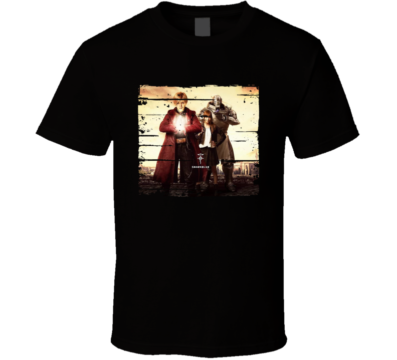 Fullmetal Alchemist Live Action Super Anime Fan Gift T Shirt