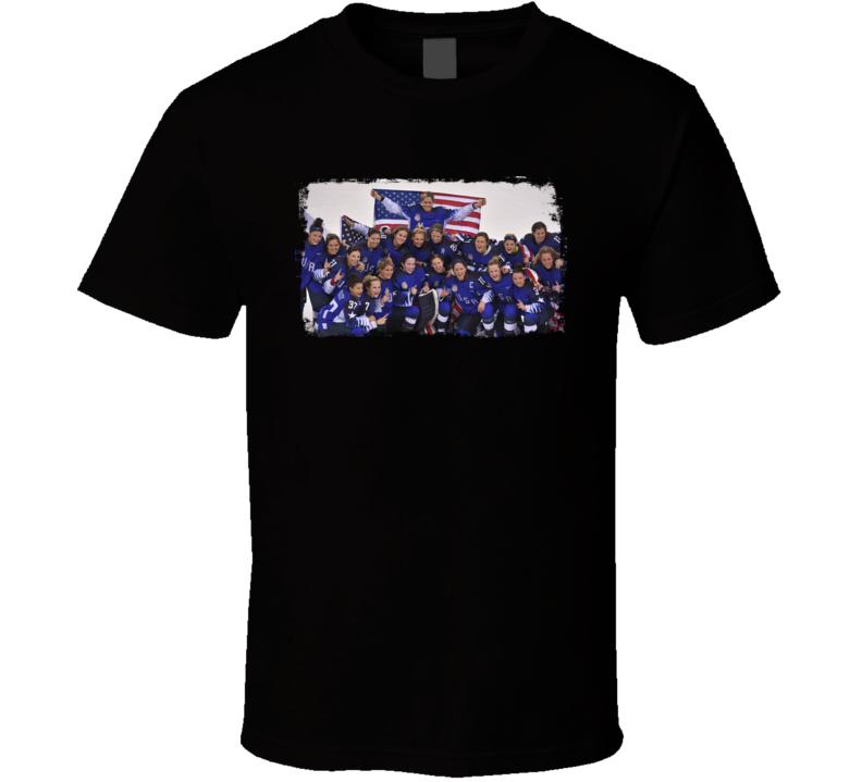 US Women's Hockey Team Win Gold Winter Olympics T Shirt