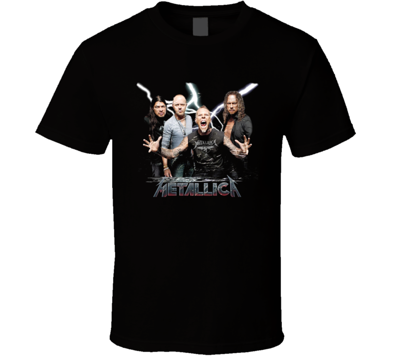 Heavy Metal Rock Music Legends Metallica Worldwired Hardcore Fan Gift T Shirt