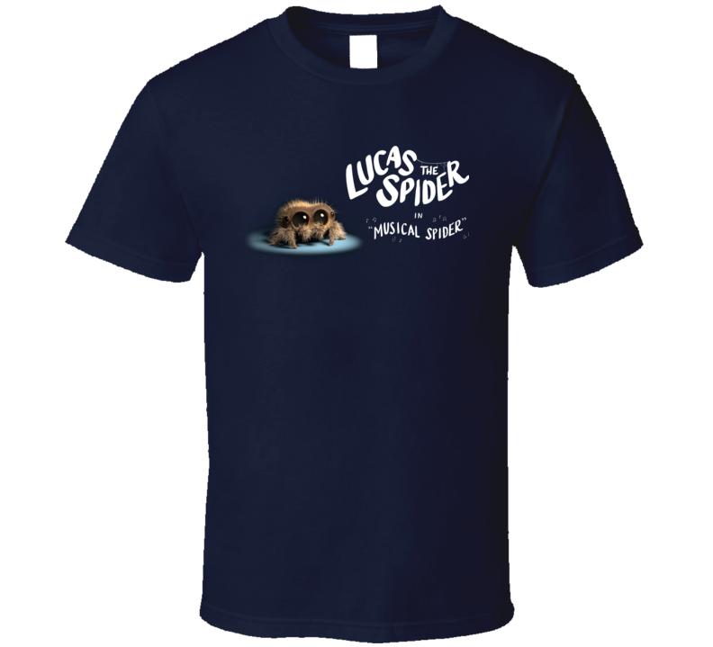 Lucas The Cute Little Musical Spider Super Fan Gift T Shirt