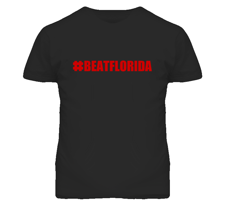 #BeatFlorida Hashtag Beat Florida Alabama bama Football Fan T Shirt