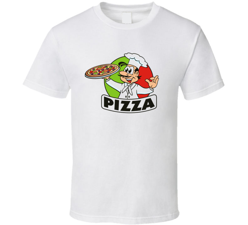 Funny Italian Pizza Chef Hat Italian Flag T Shirt
