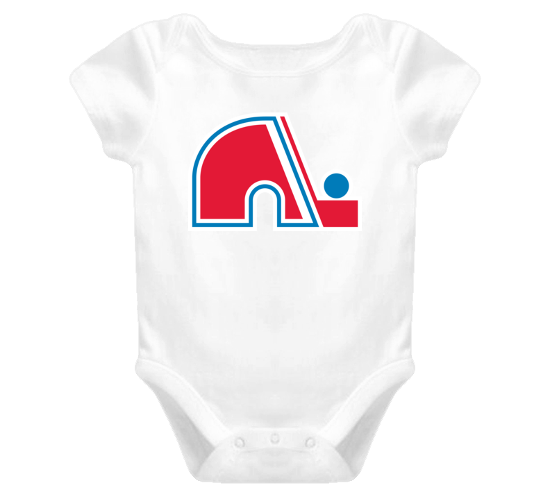 Quebec Nordiques Retro Logo Baby One Piece
