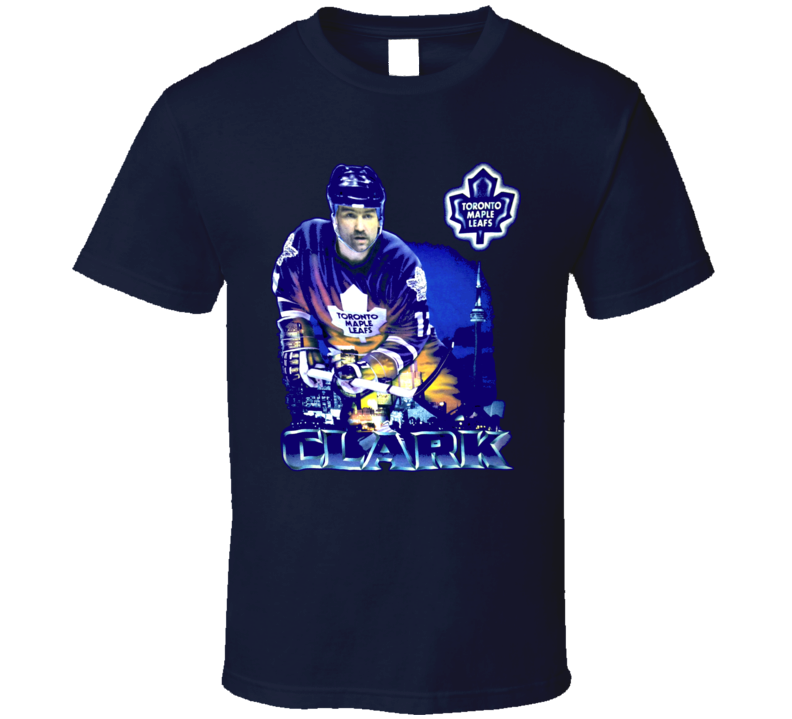 Wendel Clark Toronto Hockey Legend T Shirt