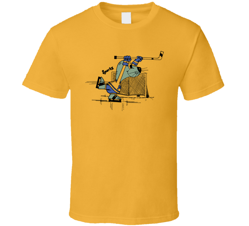 California Golden Seals Sparky Hockey T Shirt