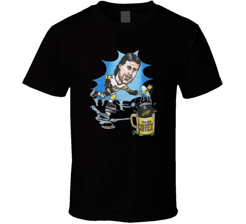 Paul Coffey NHL Legend Retro Hockey T Shirt