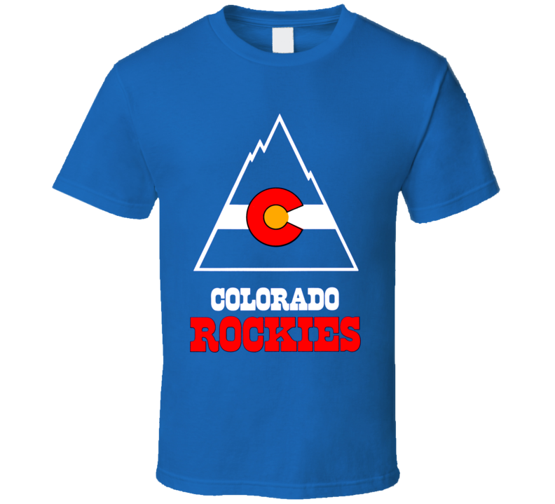 Colorado Rockies 1976 Hockey Team Nhl T Shirt