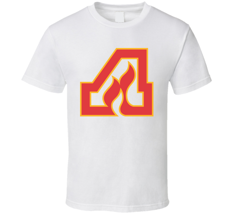 Atlanta Flames Logo Retro Hockey WHA T Shirt