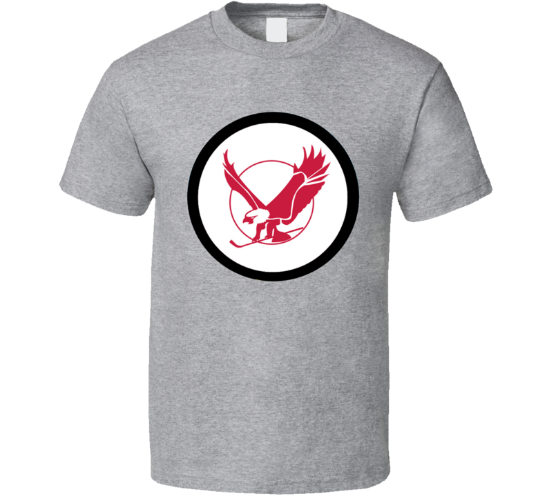 Miami Screaming Eagles DNP WHA Hockey T Shirt