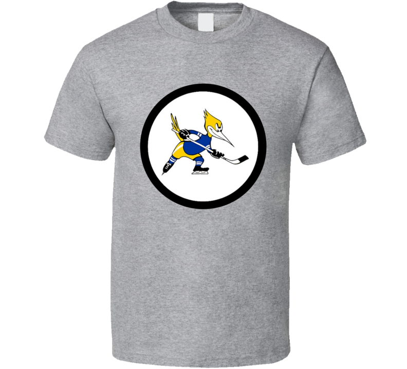 Phoenix Roadrunners WHA Retro Hockey T Shirt