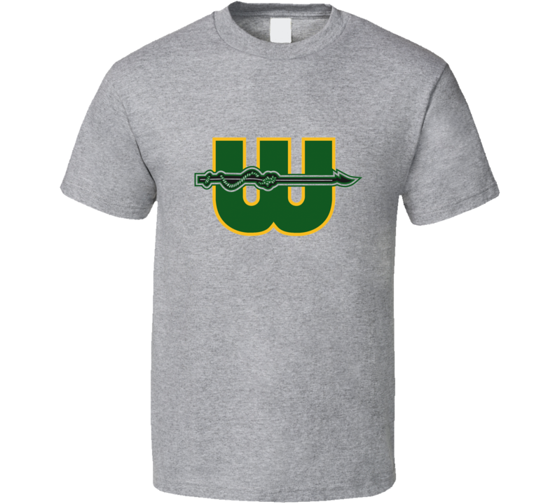 New England Hartford Whalers Alternate Logo Hockey T Shirt