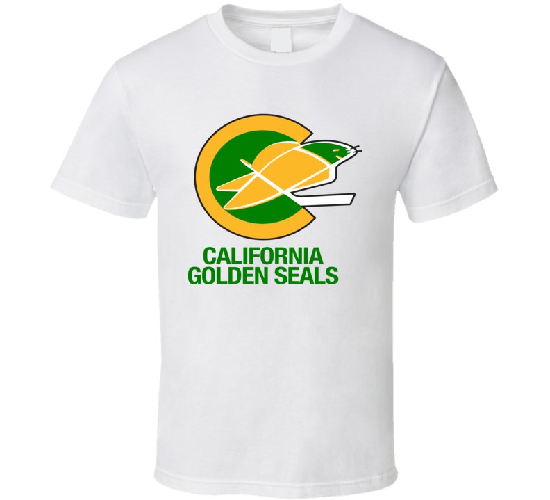 California Golden Seals Hockey Team Retro Hockey T Shirt