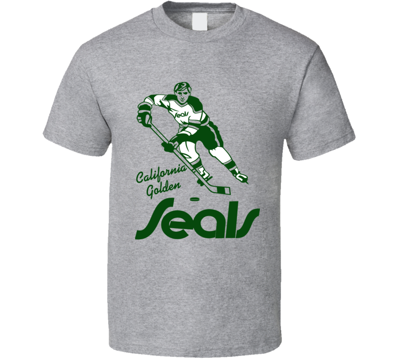 California Golden Seals Logo Retro Hockey T Shirt