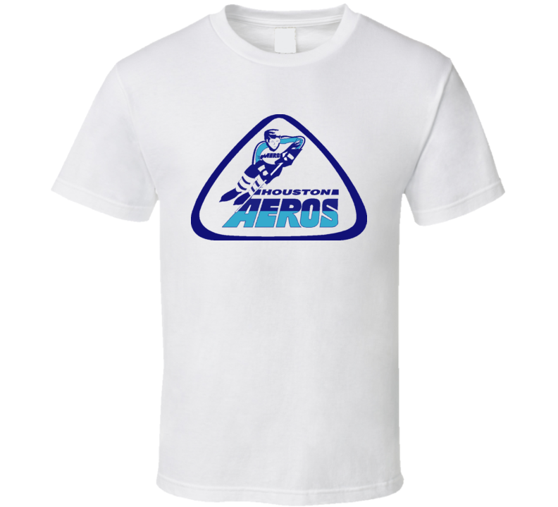 WHA Houston Aeros 1972 Hockey T Shirt