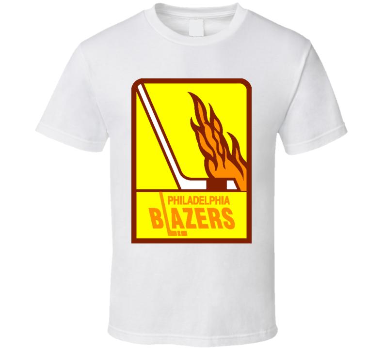 WHA Philadelphia Blazers Hockey T Shirt