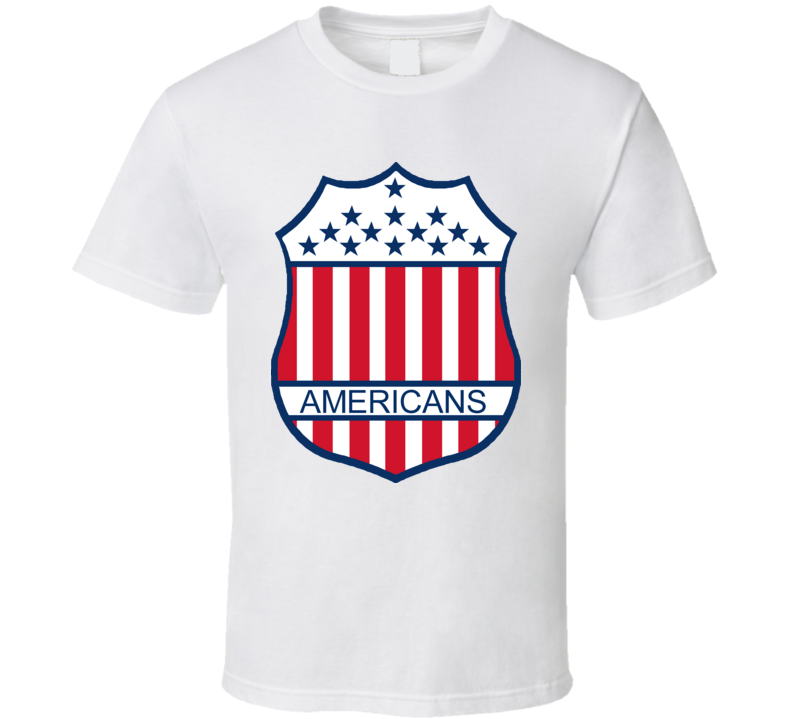 New York Americans Hockey Team T Shirt
