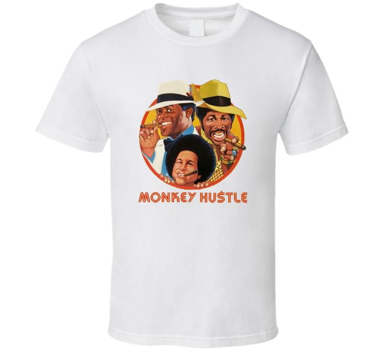 452628-Monkey Hustle Movie Cool T Shirt