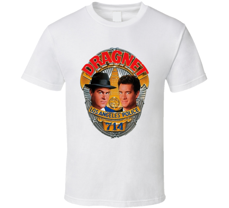 Dragnets Los Angeles Police 714 T Shirt