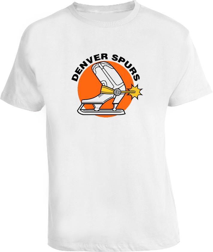 WHA Denver Spurs Hockey T Shirt