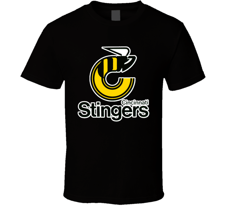 Cincinati Stingers WHA Hockey T Shirt