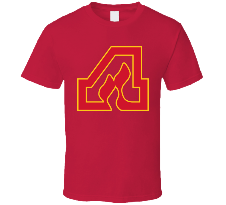 Atlanta Flames Hockey T Shirt