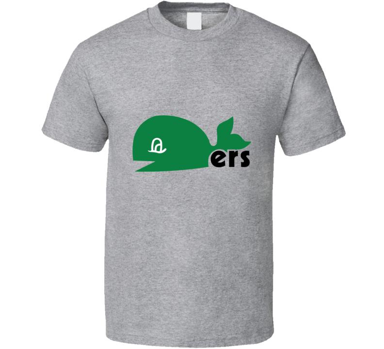 Whalers WHA Classic Hockey T Shirt