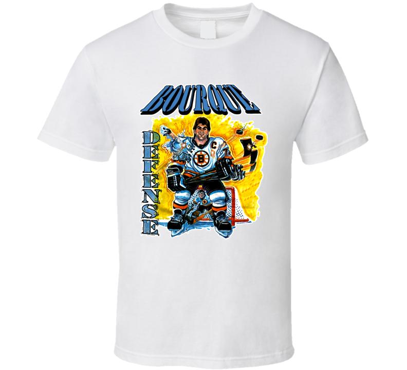 Ray Bourque Boston Hockey Retro T Shirt