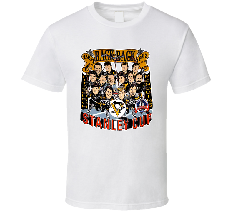 Pittsburgh Hockey Back To Back Champs T Shirt