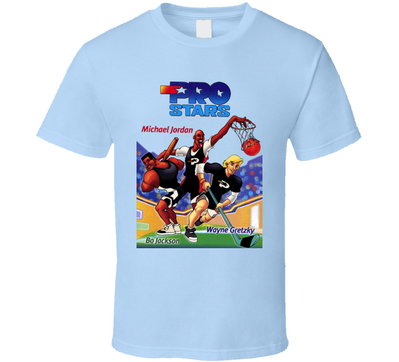 Pro Stars Bo Jackson Cartoon T Shirt
