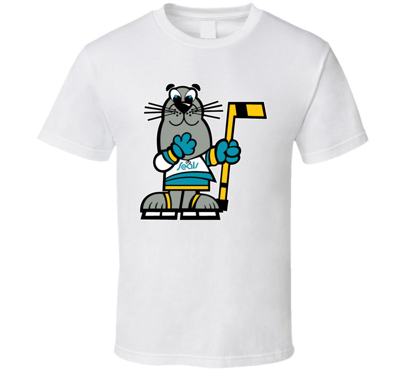 California Golden Seals Mascot Sparky Wha T Shirt