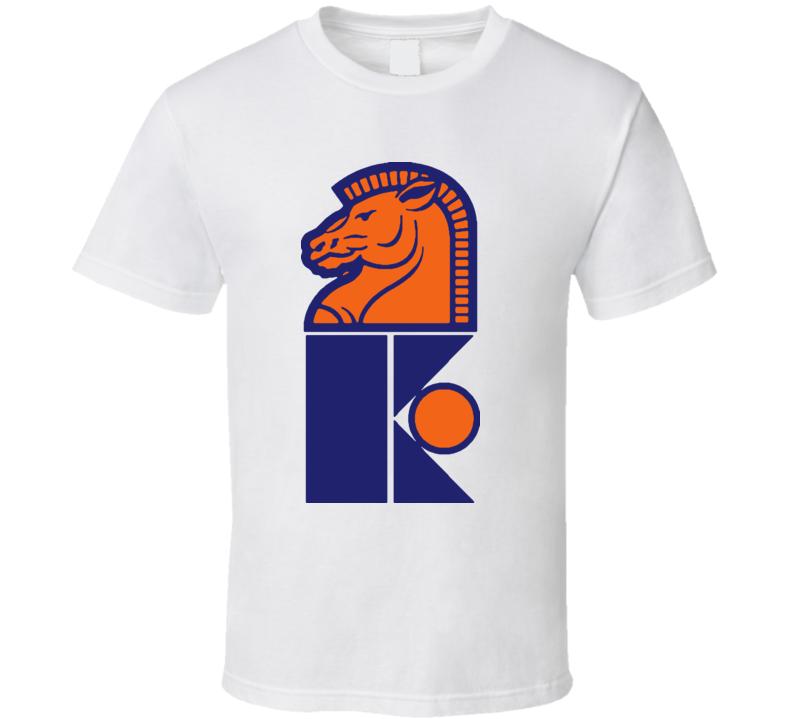 New Jersey Knights Wha Hockey Logo T Shirt