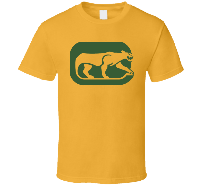 Chicago Cougars Wha Retro Hockey T Shirt