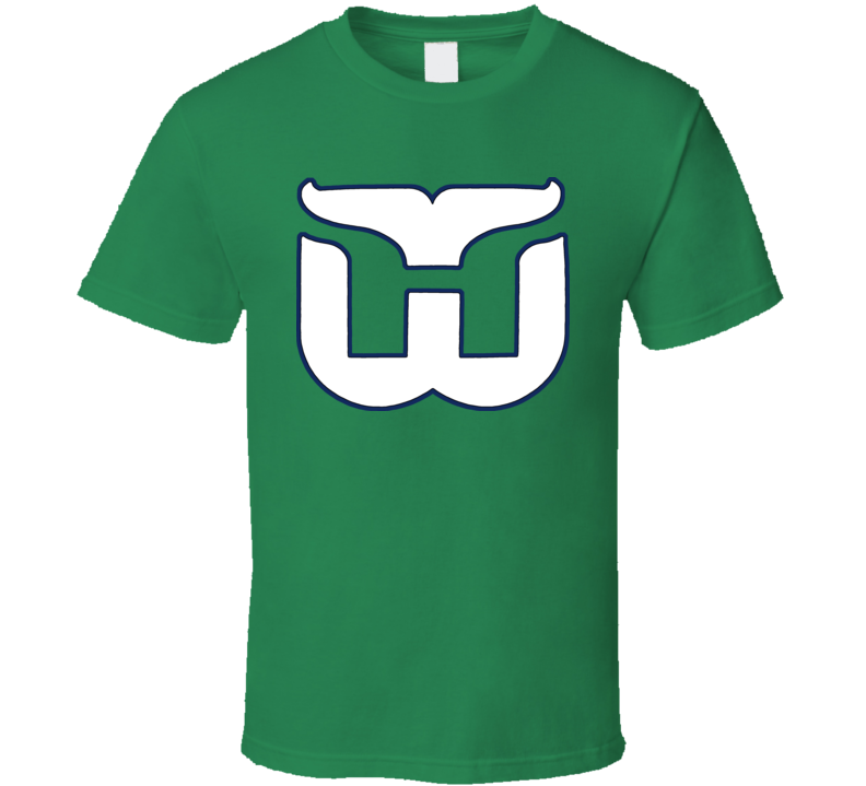 Hartford Whalers Retro Hockey T Shirt