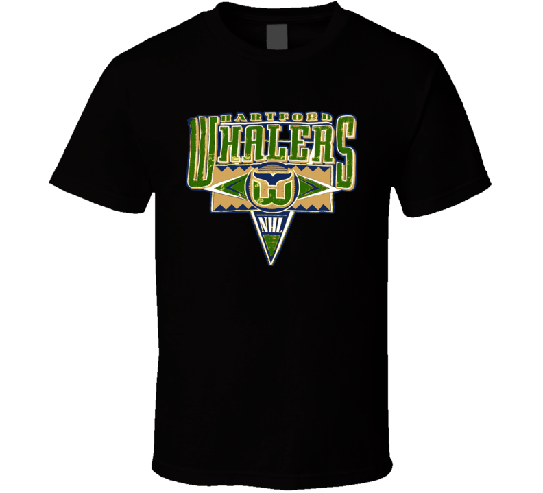 Harford Whalers Retro Hockey T Shirt