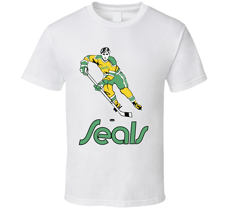 California Golden Seals Retro Hockey T Shirt