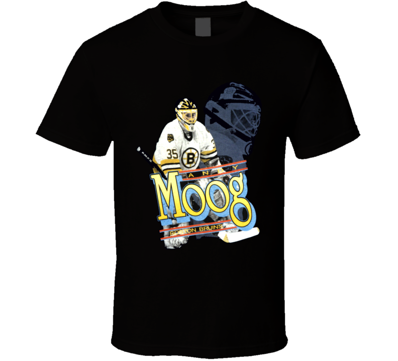 Andy Moog Retro Hockey Goalie T Shirt